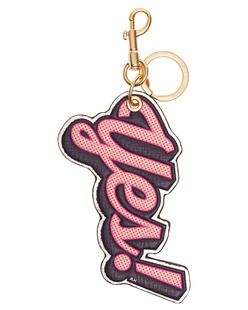 ANYA HINDMARCH Key Ring Yes Light Gold