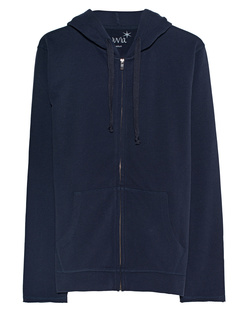 JUVIA Hooded Zip Navy