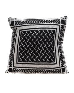 LALA BERLIN Cushion Trinity Classic Nero Alabastro