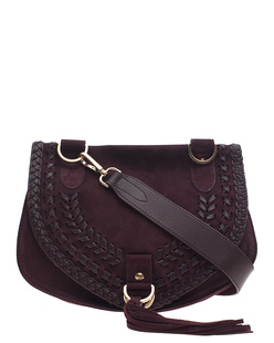 SEE BY CHLOÉ Sacs Collins Medium Dark Plum