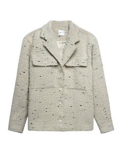 ANINE BING Tweed Leon Off White