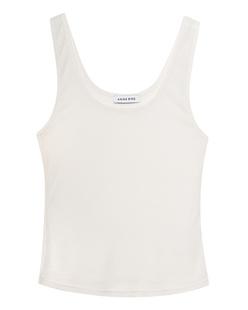 ANINE BING Harlow Tankt Off-White