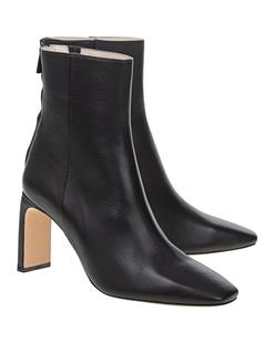 ANINE BING Gianna Heel Leather Black