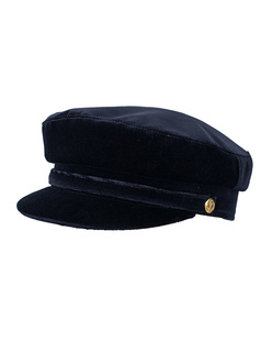 MANOKHI Greek Fisherman Hat Navy