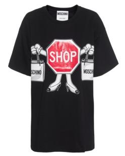 MOSCHINO Shop Sign Black