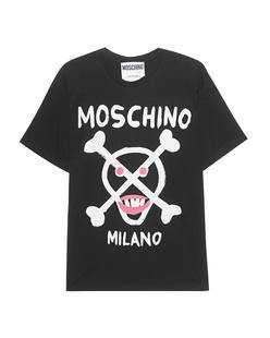MOSCHINO Milano Skull Black