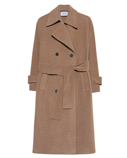 HARRIS WHARF LONDON Trenchcoat Oversize Beige