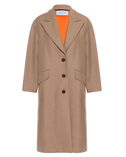 HARRIS WHARF LONDON Oversize Coat Beige