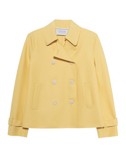 HARRIS WHARF LONDON Cropped Trench Yellow
