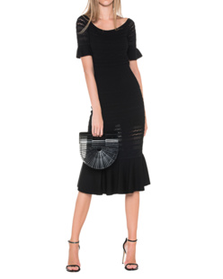 ALEXIS Sheira Knitted Black