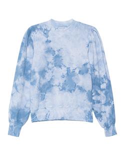Michael Stars Puff Sleeve Blue