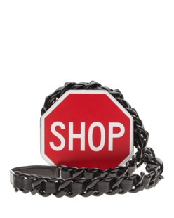 MOSCHINO Stop Sign Red