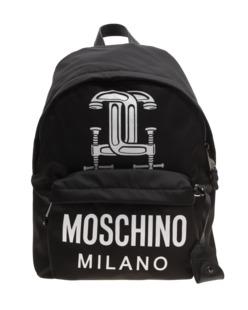 MOSCHINO Backpack Workshop Black