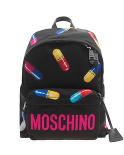 MOSCHINO Capsule All Over Pills Black