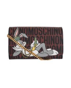 MOSCHINO Bugs Bunny King Small Brown