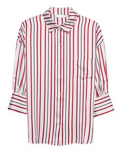 ANINE BING Mia Stripes White