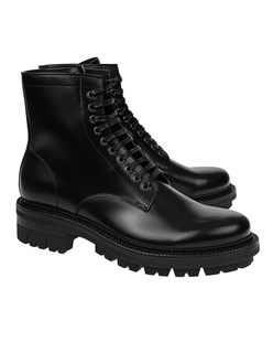 DSQUARED2 Combat Leather Black
