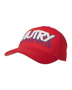Autry Open Capsule Base Cap Red