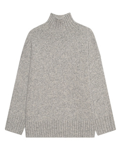 AG Jeans Turtleneck Boxy Light Grey