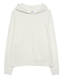 AG Jeans Boyfriend Velvet Cold Dye Blanc