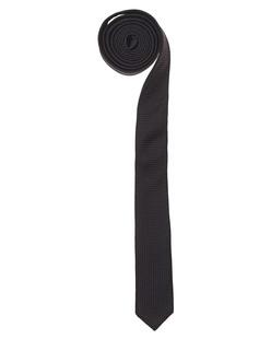 THE KOOPLES Pique Tie Black
