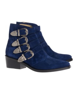 Toga Pulla Cowboy cool suede blue