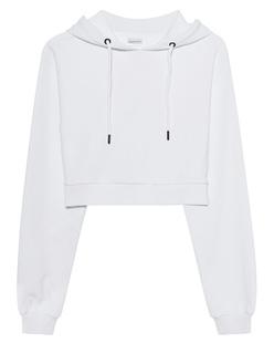 aprilmarch Crop Hood White