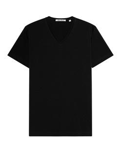 STEFAN BRANDT ARTUR V-NECK  BLACK