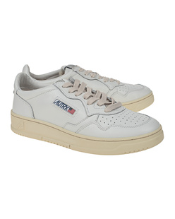Autry Aulm Low Leat White