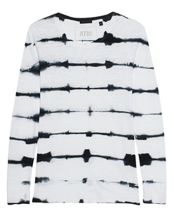 ATM Tie Dye Black White