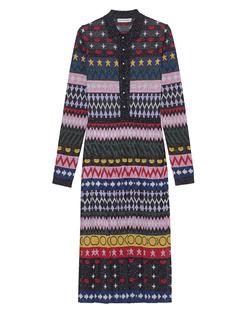 MARY KATRANTZOU Dress Sparkle Knit Multi