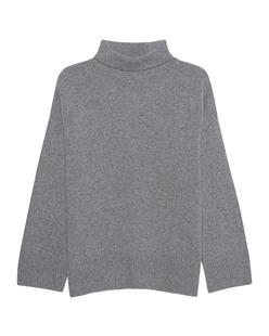 GREY MARL  Turtle Knit Grey
