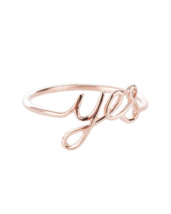 ART YOUTH SOCIETY Say Yes Rose Gold