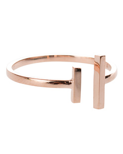 ART YOUTH SOCIETY Double Bar Rose Gold