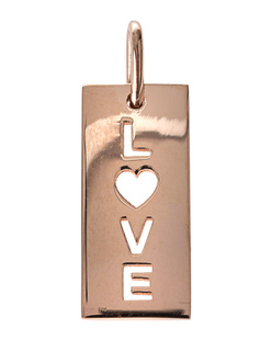 ART YOUTH SOCIETY Love Large Rose Gold