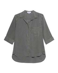 bella dahl Tail Button Down Olive