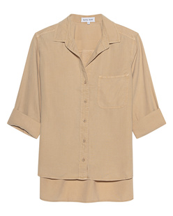 bella dahl Pocket Button Camel