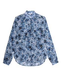 BELLA DAHL Print Blouse Blue