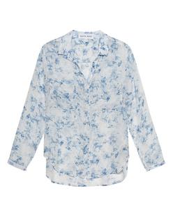 BELLA DAHL Indigo Floral Blue