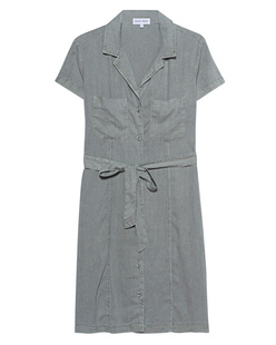 bella dahl Shirt Dress Olive