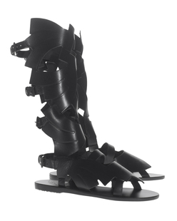 Ancient Greek Sandals X Carven Banana High Black