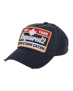 DSQUARED2 Cap Dean&Dan Sign Navy
