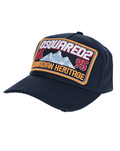 DSQUARED2 Canadian Heritage Cap Navy