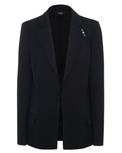 VERSUS VERSACE by ANTHONY VACCARELLO Giacca Tessuto Open Black
