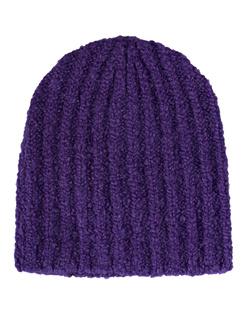 Isabel Marant Étoile Freja Alpaca Ribs Purple