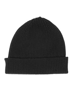 LE BONNET Clean Knit Onyx Black