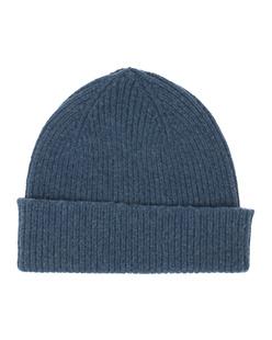 LE BONNET Clean Knit Steel Blue