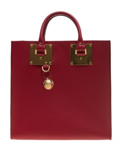 SOPHIE HULME Albion Square Cherry Red