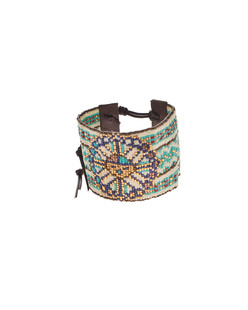 CHAN LUU Floral Ethno Turquoise