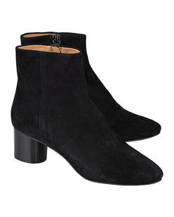 Isabel Marant Étoile Danay Iconic Velvet Black